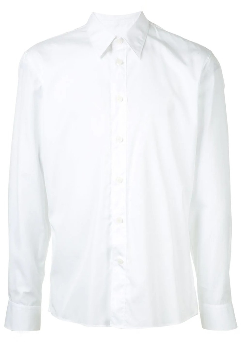 Calvin Klein long-sleeve fitted shirt