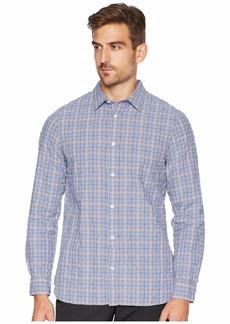 Calvin Klein Long Sleeve Flannel Button Down