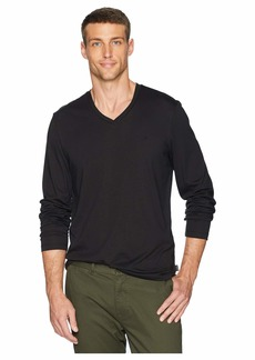 Calvin Klein Long Sleeve Jersey V-Neck T-Shirt