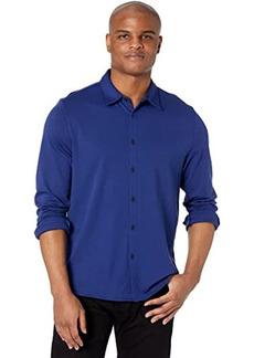 Calvin Klein Long Sleeve Liquid Knit Shirt