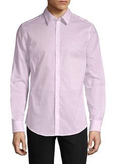 Calvin Klein Long-Sleeve Logo Shirt