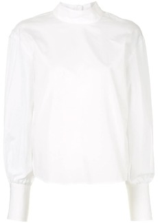 Calvin Klein long-sleeve poplin top