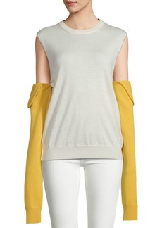 Calvin Klein Long-Sleeve Wool Sweater