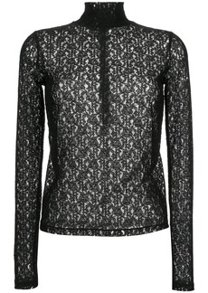 Calvin Klein longsleeved lace top