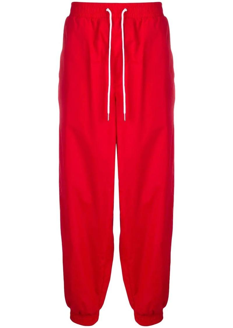 Calvin Klein loose-fit logo track pants