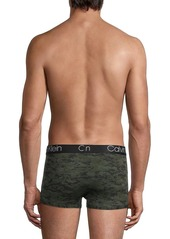 Calvin Klein Low-Rise Camouflage Logo Trunks