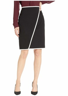 Calvin Klein Lux Piped Skirt