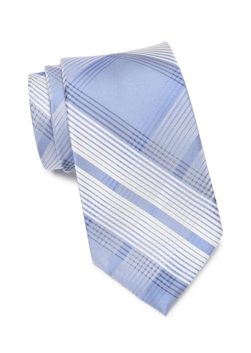 Calvin Klein Luxe Grid II Silk Tie