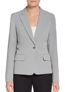 Calvin Klein Luxe Single-Button Blazer