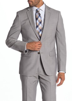 Calvin Klein Malbin Two Button Notch Collar Slim Fit Wool Suit Separates Jacket