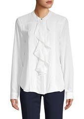 Calvin Klein Mandarin Collar Shirt