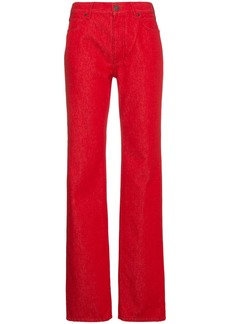 Calvin Klein Medium Rise Straight Leg Jeans