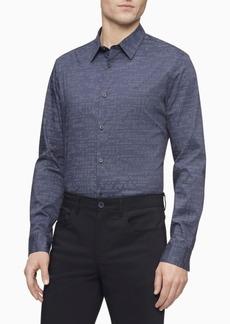 Calvin Klein Men's Barcode Button Down Shirt