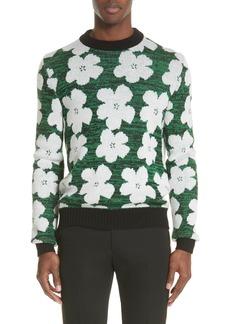 Men's Calvin Klein 205W39Nyc Andy Warhol Flower Sweater