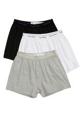 Men's Calvin Klein 3-Pack Knit Cotton Boxers