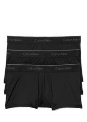Men's Calvin Klein 3-Pack Micro Stretch Trunks