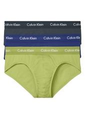 Calvin Klein 3-Pack Moisture Wicking Stretch Cotton Briefs