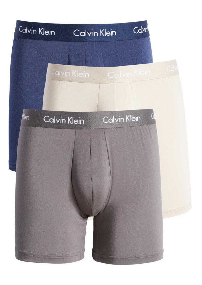 Men's Calvin Klein Body 3-Pack Stretch Modal Boxer Briefs