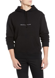Calvin Klein Men's Logo Pullover Hoodie