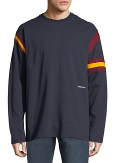 Calvin Klein Men's Long-Sleeve Rugby T-Shirt