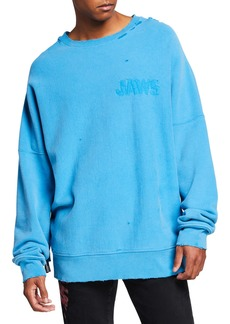 Calvin Klein Men's Oversized Jaws Sweatshirt