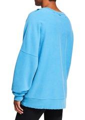 Calvin Klein Men's Oversized Jaws Sweatshirt