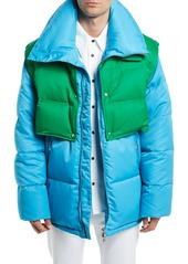 Calvin Klein Men's Puffer Coat with Removable Vest