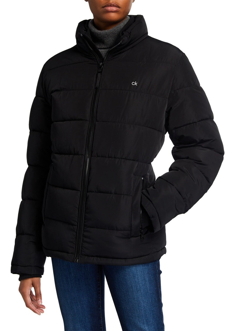 Calvin Klein Men's Short Puffer Jacket