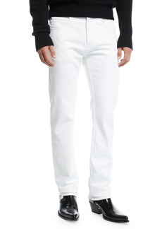 Calvin Klein Men's Straight-Leg Solid Denim Jeans