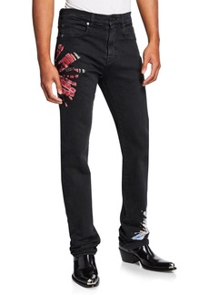 Calvin Klein Men's Tie-Dye Denim Jeans