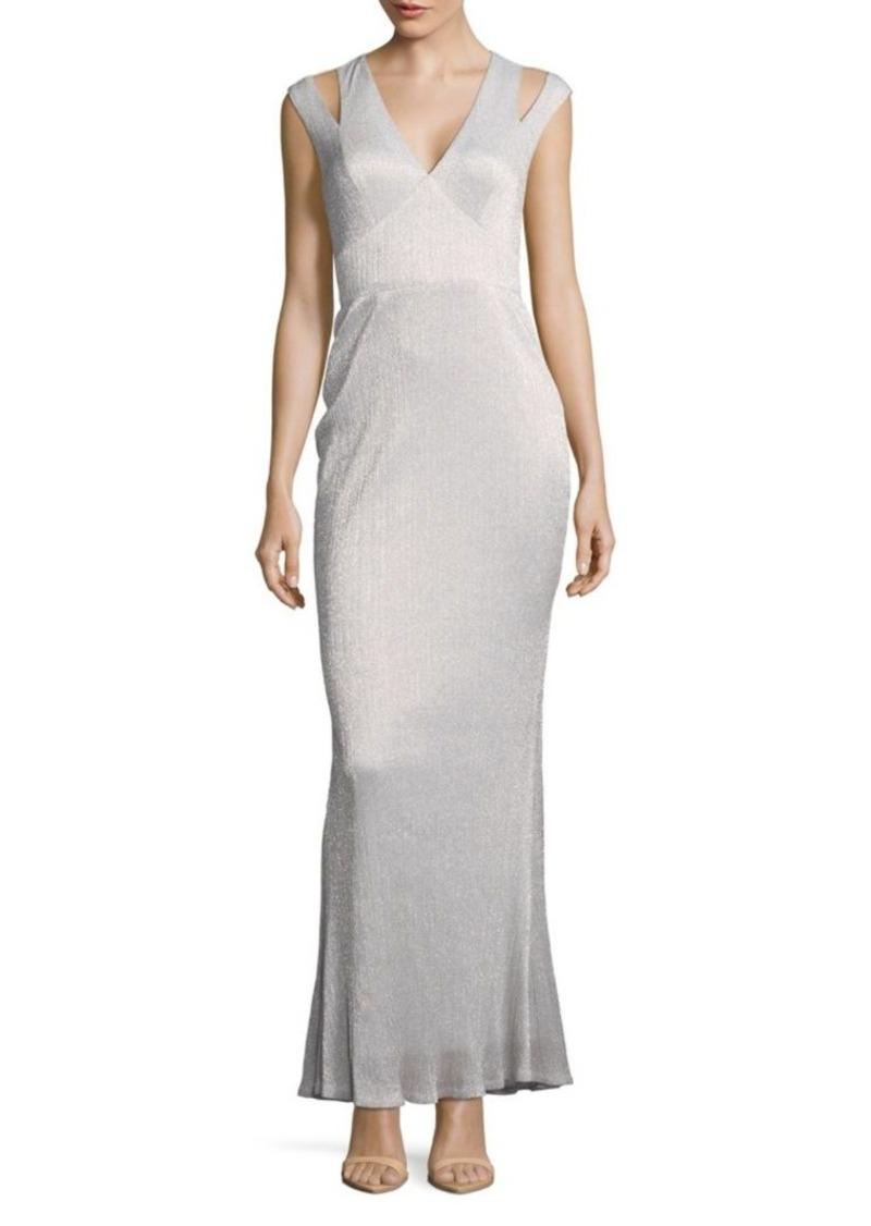 Calvin Klein Metallic Accent Dress | Dresses