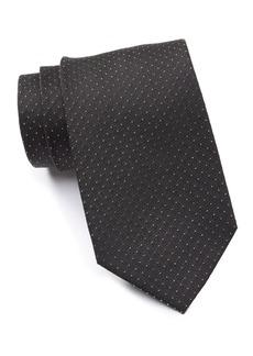 Calvin Klein Metallic Pindot Tie