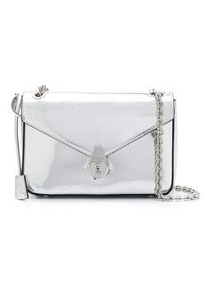 Calvin Klein metallized shoulder bag
