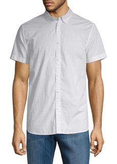 Calvin Klein Modern-Fit Micro-Dot Shirt