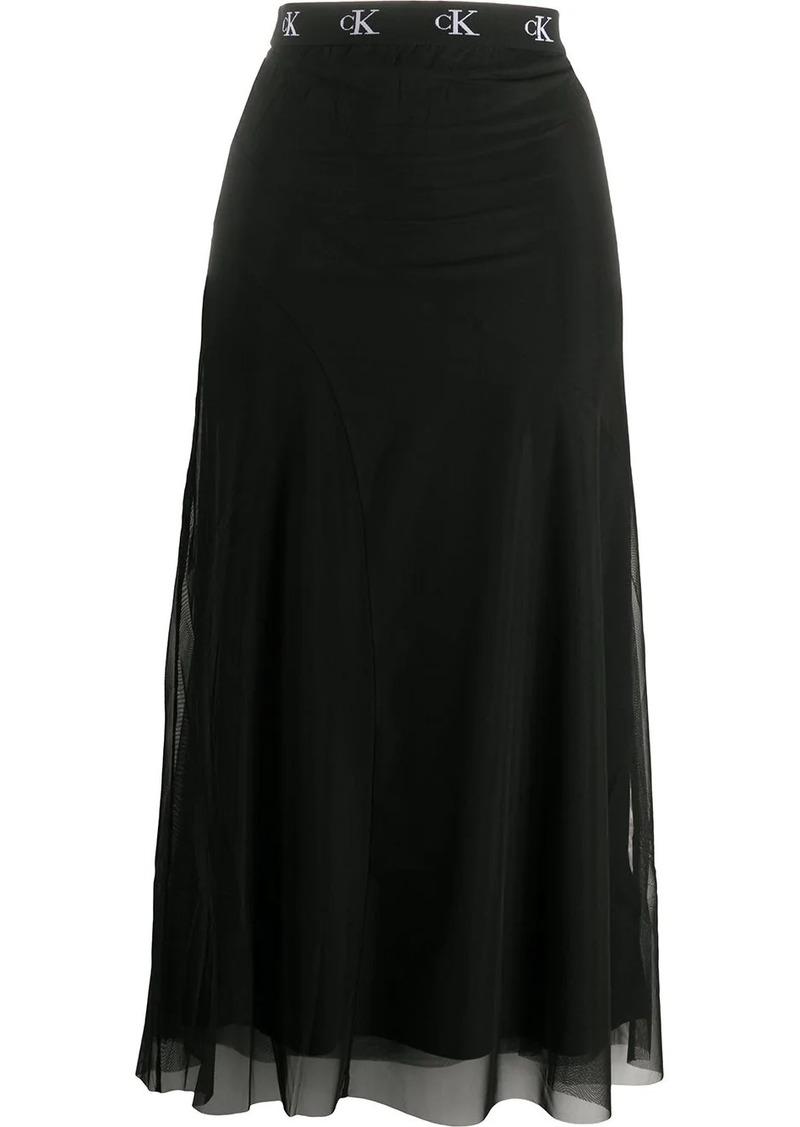 Calvin Klein mid-length skirt