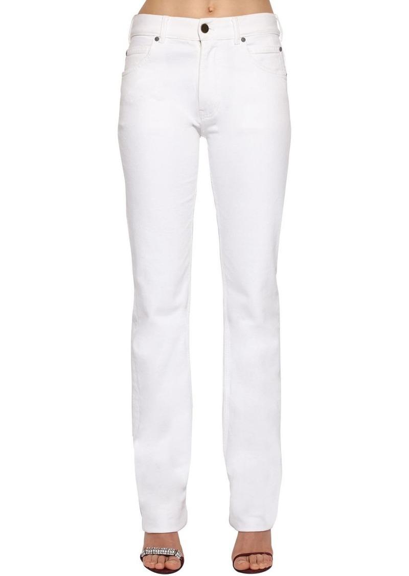 Calvin Klein Mid Rise Cotton Denim Jeans