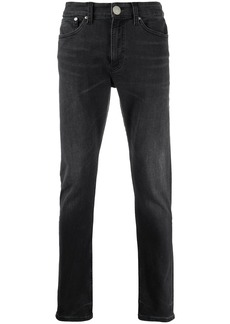 Calvin Klein mid-rise skinny jeans