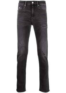 Calvin Klein mid-rise slim fit jeans