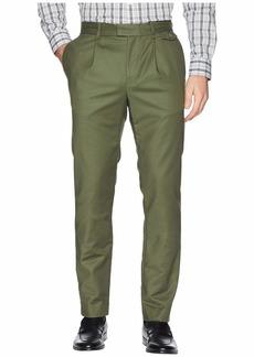 Calvin Klein Military Sateen Pressed Trouser Pants