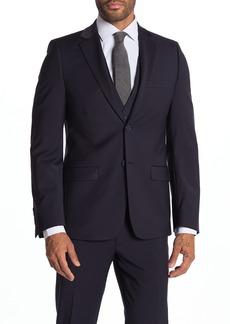 Calvin Klein Milo Notch Collar Skinny Fit Suit Separate Jacket