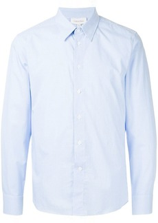 Calvin Klein mini check slim fit shirt