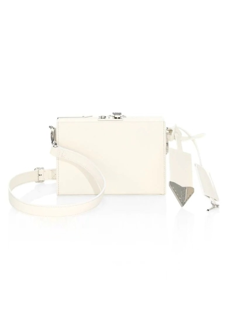 Calvin Klein Mini Leather Box Crossbody