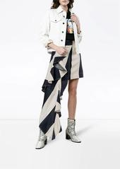 Calvin Klein Mini skirt with asymmetric drape