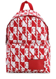 Calvin Klein Mirror Logo Nylon Backpack