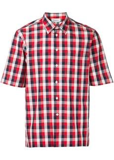 Calvin Klein mixed gingham short sleeve shirt