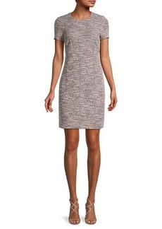 Calvin Klein Mixed Knit Dress