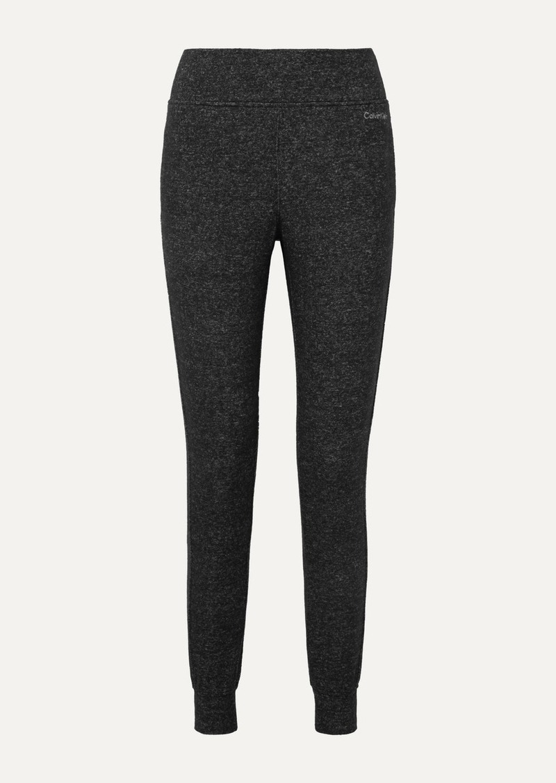 Calvin Klein Mélange Jersey Track Pants