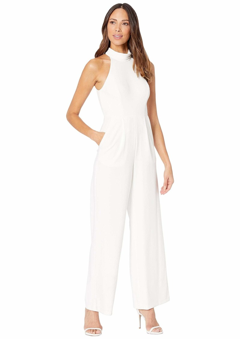 Calvin Klein Mock Neck Jumpsuit
