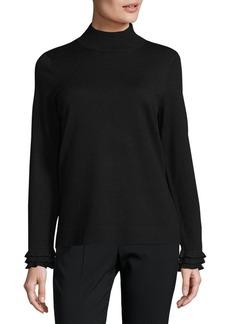 Calvin Klein Mockneck Pullover Sweater