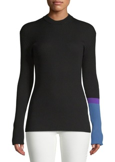 Mockneck Slim Sweater